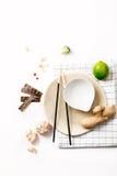 Aziatische voedselingrediënten Stock Afbeeldingen
