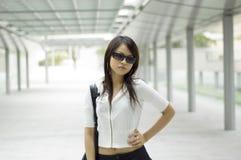 Aziatische vrouw Stock Foto's