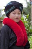 Aziatische vrouw, Yao, van Laos royalty-vrije stock afbeeldingen