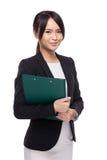 Aziatische vrouwelijke leraar royalty-vrije stock foto