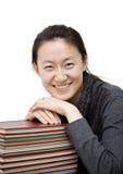 Aziatische vrouwelijke student Royalty-vrije Stock Foto