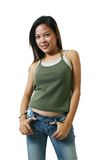 Aziatische vrouwen Royalty-vrije Stock Afbeeldingen