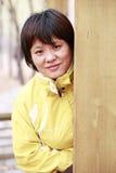 Aziatische vrouwen openlucht stock afbeelding
