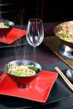 Aziatische wok Royalty-vrije Stock Foto