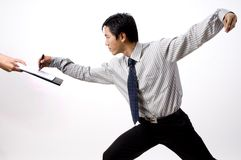 Aziatische Zaken Stock Fotografie
