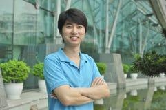 Aziatische zakenman Stock Afbeelding