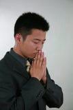 Aziatische zakenman royalty-vrije stock afbeeldingen