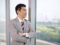Aziatische zakenman Royalty-vrije Stock Afbeelding