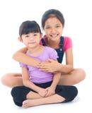 Aziatische zusters Stock Afbeelding
