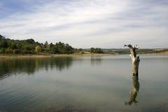 Azibo landskap Arkivfoton
