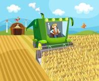 Azienda agricola illustrazione vettoriale