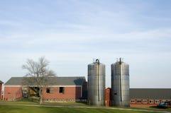 Azienda agricola 3 della Nuova Inghilterra Immagini Stock