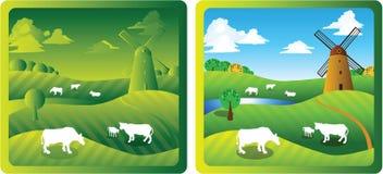 Azienda agricola 1 Immagini Stock Libere da Diritti