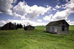 Azienda agricola abbandonata Fotografia Stock