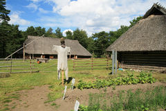 Azienda agricola alla cavalla di Al di Rocca (Tallinn, Estonia) Immagini Stock Libere da Diritti