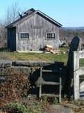 Azienda agricola: baracca dello zucchero di acero Immagini Stock