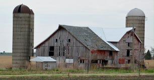 Azienda agricola d'esitazione Fotografie Stock
