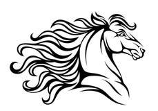 Azienda agricola del cavallo Head Immagine Stock Libera da Diritti