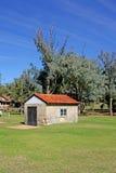 Azienda agricola del cottage Fotografie Stock