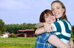 Azienda agricola del fagiolo della soia Immagine Stock Libera da Diritti