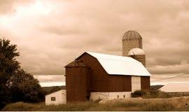 Azienda agricola del paese Fotografie Stock