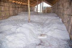 Azienda agricola del sale in Tailandia Fotografie Stock