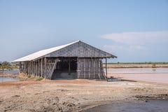 Azienda agricola del sale in Tailandia Immagini Stock Libere da Diritti