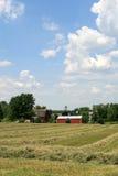 Azienda agricola dell'americano del Midwest Immagini Stock