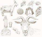 Azienda agricola della capra royalty illustrazione gratis