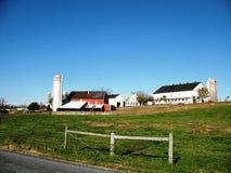 Azienda agricola della famiglia Immagine Stock