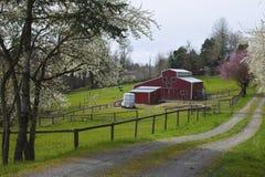 Azienda agricola della famiglia nell'Oregon rurale. Fotografie Stock