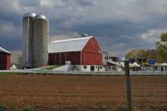 Azienda agricola della Pensilvania Amish Fotografia Stock