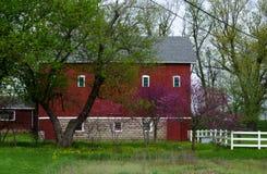 Azienda agricola della primavera nel Michigan Immagini Stock