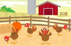 Azienda agricola della Turchia Fotografie Stock