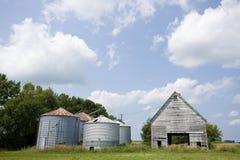azienda agricola delle costruzioni Fotografie Stock Libere da Diritti