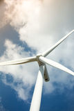 Azienda agricola delle turbine di vento Fotografie Stock Libere da Diritti
