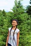Azienda agricola di albero lunatica fotografia stock libera da diritti