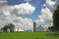 Azienda agricola di Amish Immagine Stock