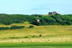 azienda agricola di autunno Fotografia Stock