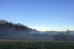 Azienda agricola di bestiame della collina Fotografia Stock Libera da Diritti