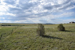 Azienda agricola di Colorado Springs Fotografie Stock Libere da Diritti