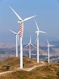 Azienda agricola di elettricità dei generatori Fotografia Stock