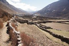 Azienda agricola di elevata altitudine Fotografie Stock