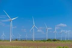 Azienda agricola di energia eolica Immagini Stock Libere da Diritti