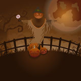 Azienda agricola di Halloween Immagini Stock Libere da Diritti
