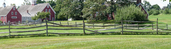 Azienda agricola di Hollis fotografie stock