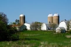 Azienda agricola di lavoro nel Michigan Immagini Stock