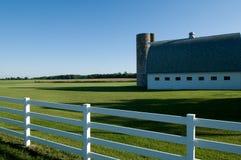 Azienda agricola di mattina Fotografie Stock