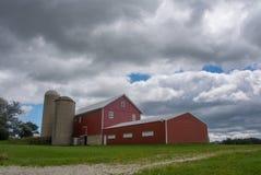 Azienda agricola di Midwest Immagini Stock Libere da Diritti