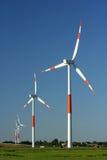 Azienda agricola di vento fotografia stock